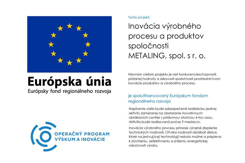 EURÓPSKA ÚNIA Európsky fond regionálneho rozvoja OP Integrovaná infraštruktúra 2014 – 2020